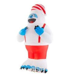 10.5 Ft GIANT BUMBLE THE ABOMINABLE Airblown Inflatable PLUSH WITH SUSPENDERS