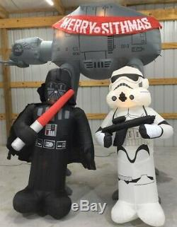 10ft Gemmy Airblown Inflatable Prototype Christmas STAR WARS Archway #12670