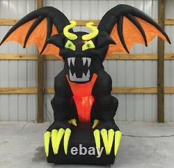 10ft Gemmy Airblown Inflatable Prototype Halloween Animated Gargoyle #70779