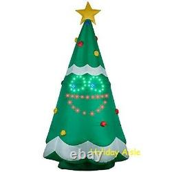 11 FT GIANT SINGING LIGHTSYNC CHRISTMAS TREE Airblown Yard Inflatable FACE MOVES