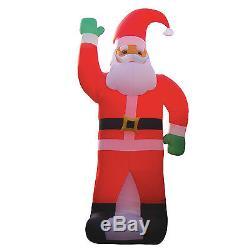 20 Foot JUMBO Christmas Air Blown Inflatable Santa Claus Yard Garden Decoration