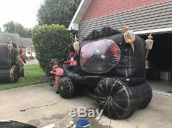 2007 Gemmy 12ft Animated Airblown Inflatable Carrige