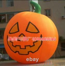 26ft Inflatable Pumpkin Halloween Jack O Lantern Holiday with Blower