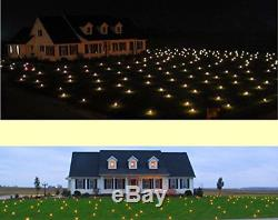 2827 sqft Christmas LED Warm White Illuminated Lawn Light Outdoor Decoration NEW