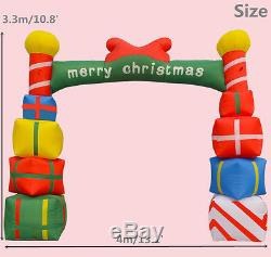 4m/13.1 Advertising Sales Promotion Inflatable Arch Christmas Gift Custom-made