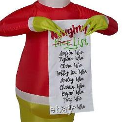 5.5FT Christmas Inflatable Grinch Outdoor Lighted Decorations Yard Decor Holiday