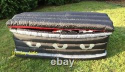 5 Ft GEMMY ANIMATED VAMPIRE RISING FROM COFFIN Airblown Yard Inflatable