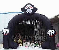 5m/16.4' Halloween Scary Terrify Ghost Inflatable Arch Advertising Celebration
