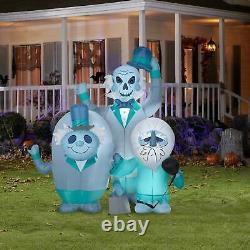 6' HAUNTED MANSION HITCHHIKING GHOSTS Airblown Yard Inflatable PRESALE