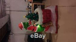 6ft animated Grinch Inflatable