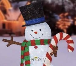 84 LED Pop-up Snowman