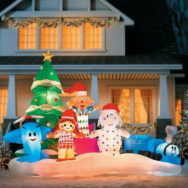 9.5 Ft Rudolph's Island Of Misfit Toys Airblown Yard Inflatable