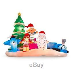 9.5' RUDOLPH ISLAND OF MISFIT TOYS Airblown Lighted Yard Inflatable