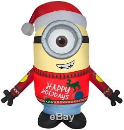 9-ft x 7.87-ft Lighted Minion Christmas Inflatable Despicable Me CARL