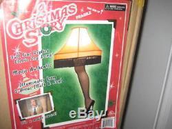A Christmas Story Full Size Replica Leg Lamp 40 Inch New! Major Award Fragile