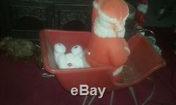Beco sled and santa blowmold