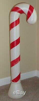 Blow Mold Candy Canes Vintage Christmas 40 Union Products 1991 4 with Lights