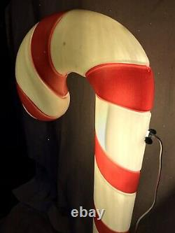 Blow Mold Christmas Candy Cane Decorations New Stock 40 Lot Of 4