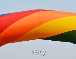 Brand New Discount 20ft10ft D=6M/20ft inflatable Rainbow arch Advertising