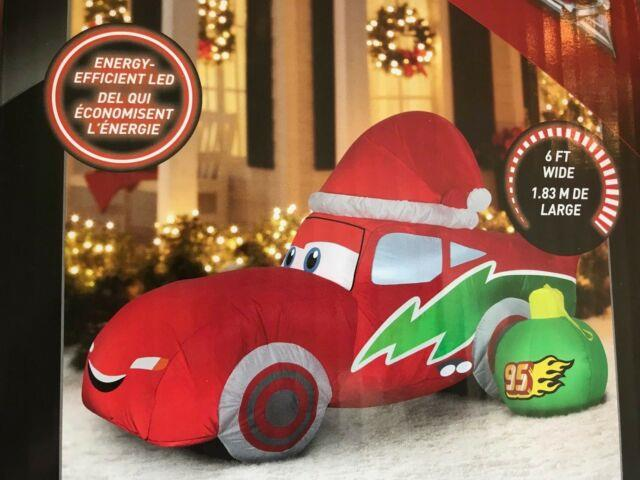 Buy-it-now Lightning Mcqueen Carsnew Christmas Inflatable $119.99 (3 Left)