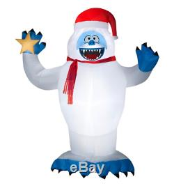 CHRISTMAS Airblown Inflatable BUMBLE Abominable SNOWMAN Rudolph Reindeer 8 FT