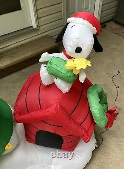 Charlie Brown Christmas Yard Inflatable Blow Up Snoopy