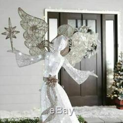 Christmas 60 Angel Holding Star Led Lighted Yard Decor