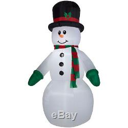 Christmas Giant Inflatable-Snowman Outdoor Airblown Best Gift New Year 10ft tall