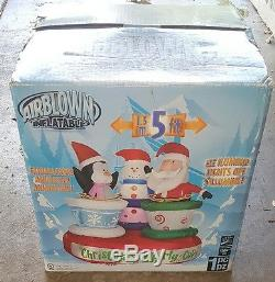 Christmas Inflatable Decoration Whirly Cups