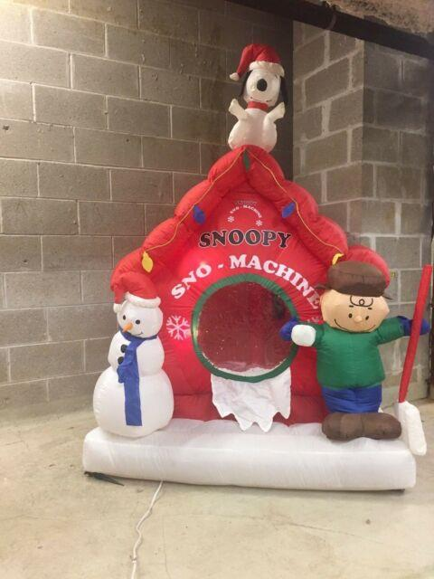 Christmas Inflatable Peanuts Airblown Yard Lawn Blow Up Decoration Apparel
