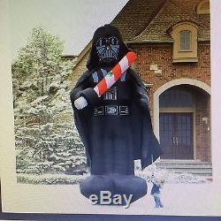 Darth Vader Xmas 16 Ft Inflatable