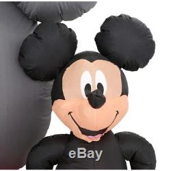 Disney Mickey & Minnie Mouse Panoramic Projection Christmas Airblown Inflatable