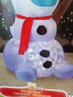 Disney Olaf Swirling Lights 8 Ft. Inflatable NIB