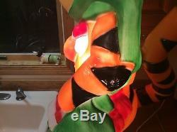 Disney Santa Best 1999 Tigger Blow Mold Yard Ornament Decor Lighted Christmas