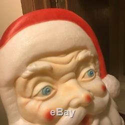 Empire Santa Face Huge Blowmold
