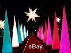 Event LED Inflatable Crescent /Cone Decoration with Blower High Quality