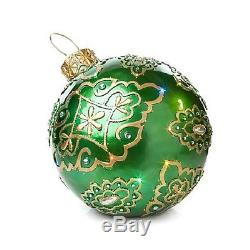 Fiber Optic Huge Outdoor Christmas Yard Ornament Display 27 Commercial Quality