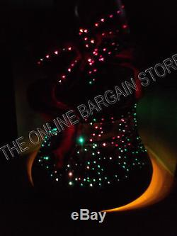 Frontgate Christmas Holiday Yard Porch Outdoor Fiber Optic Bell 32 low voltage