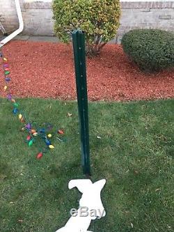 GRINCH Stealing CHRISTMAS Lights Yard Art RIGHT Facing Grinch & MAX FREE SHIP