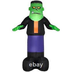 Gemmy 12-ft Lighted Monster Halloween Inflatable