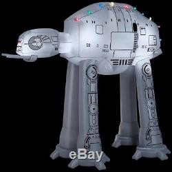 Gemmy 37523 Airblown at-at withLight String Star Wars Christmas Inflatable