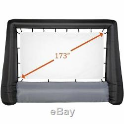 Gemmy 44416 Airblown Projector Movie Screen Deluxe Inflatable, Giant 173