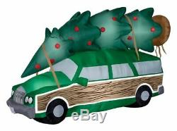 Gemmy 8' Christmas Vacation Station Wagon Airblown Christmas Inflatable