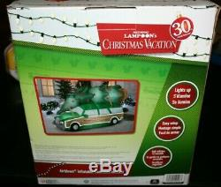 Gemmy 8ft National Lampoon's Christmas Vacation Inflatable Station Wagon New