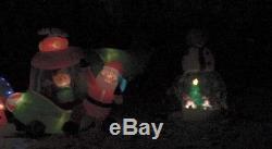 Gemmy Airblown Christmas Inflatable 12ft Snow globe Snowman Huge