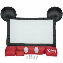 Gemmy Airblown Inflatable Outdoor/Indoor Disney Movie Screen