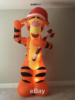 Gemmy Prototype Christmas Airblown Inflatable Disney Tigger Blow Up Yard Decor