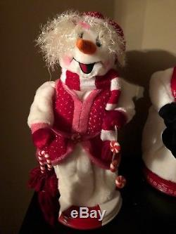 Gemmy Snowman Animater Snow Mister Rare Htf Chirstmas