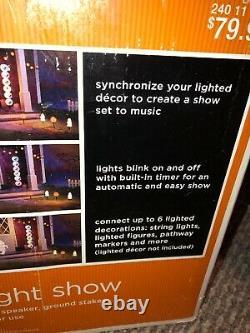 Gemmy Sound And Light Show Bnib Rare Htf