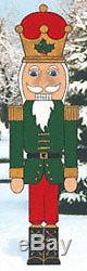 Giant Nutcracker Guard Christmas Yard Art Decoration